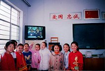 Pupils from Cangzhou